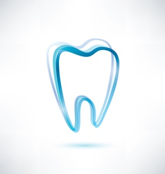 tooth symbol vector image