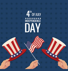 united states independence day traditional event vector image vector image