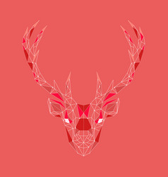 a deer vector image