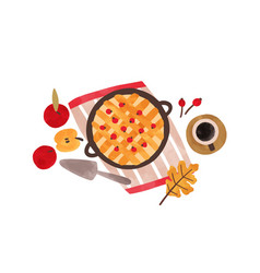 autumn food hand drawn vector image