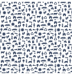 Ecological Seamless pattern vector
