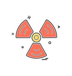 fans icon design vector image