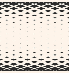 Geometric pattern with rhombuses diamond shapes vector