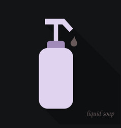 liquid soap icon cartoon of liquid soap icon for vector image
