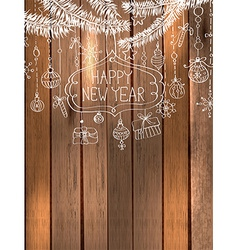 Natural Decoration for beautiful Holiday design vector