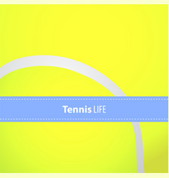 yellow tennis balls vector image
