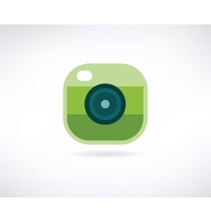 Photo app icon Similar to instagram vector image vector image