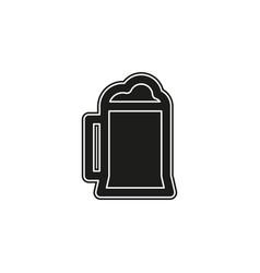 beer glass mug - drink alcohol sign symbol vector image