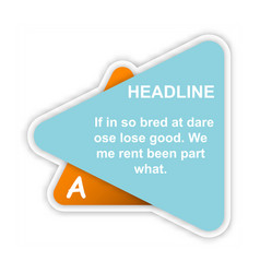 business infografic template presentation vector image