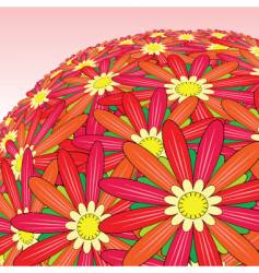flower bunch vector image