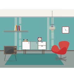 Modern interior vector