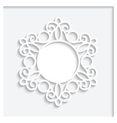 Paper Vignette vector image