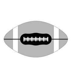 rugball flat vector image