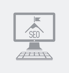 seo and high target vector image