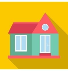 Stylish house icon flat style vector