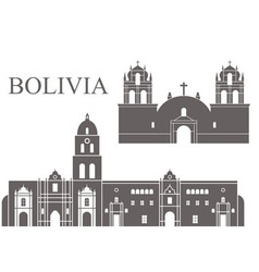 Bolivia vector image vector image