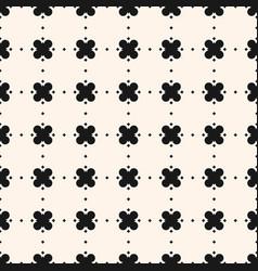 geometric floral pattern ornamental seamless vector image