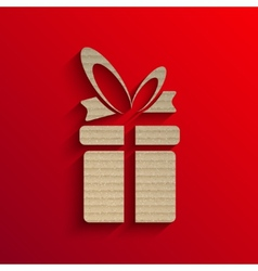 gift background 2015 new year vector image vector image