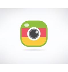 Photo app icon Similar to instagram vector image