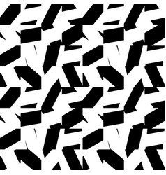 Abstract minimal monochrome pattern with mosaic vector