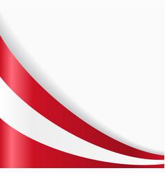 Austrian flag background vector