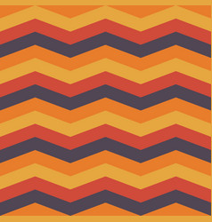 autumn chevron seamless pattern background vector image