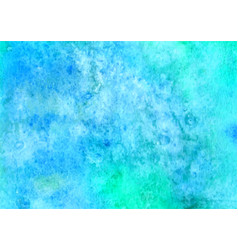 blue watercolor background abstract hand paint vector image