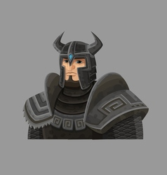 Cartoon warrior 4 vector