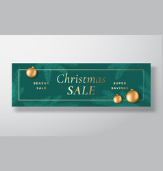 Christmas sale abstract greeting or holiday vector