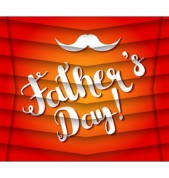 Fathers day design vector image