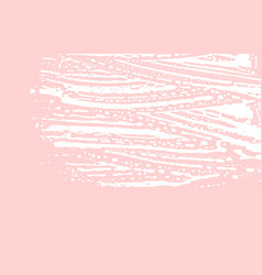 Grunge texture distress pink rough trace gorgeou vector