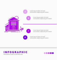 home house apartment building office infographics vector image