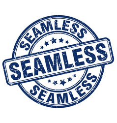 Seamless blue grunge stamp vector