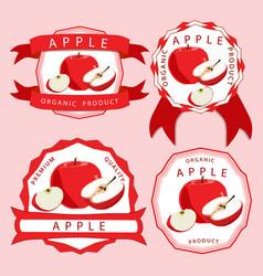 The theme apple vector