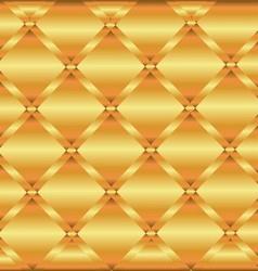Gold Metal Texture Background Decorative Design vector image vector image