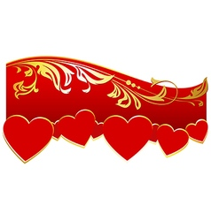 Decoration for valentines day vector