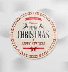 Merry christmas 3 vector image