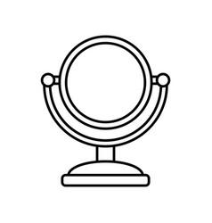 mirror icon image vector image