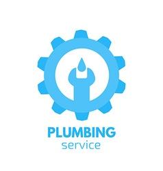 Plumber logo Handyman logo vector image vector image