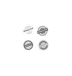 retro vintage premium quality stamp label seal vector image