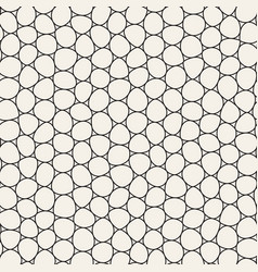 Seamless irregular lines mosaic pattern abstract vector