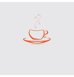 Single Cup Icon vector image