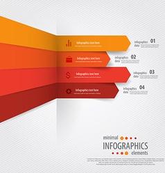 Infographics minimal 6 vector