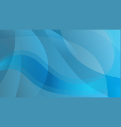 abstract blue color technology background vector image