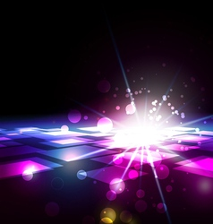 Abstract Squares with Light Background vector
