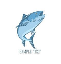 fish tuna vector image