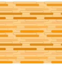 Geometric pattern of orange ovals vector image