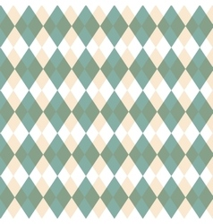 green geometric seamless pattern decorative vector image