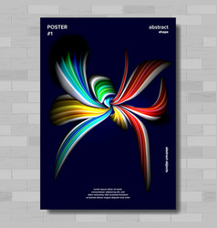 modern abstract cover poster creative vector image