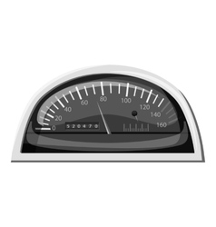 Small speedometer for car icon vector